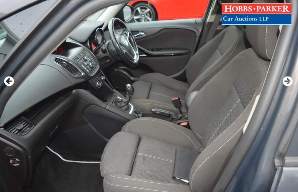 2015 Vauxhall Zafira Tourer - 63,886 Miles - Auction 25th For Sale by Auction (picture 5 of 6)
