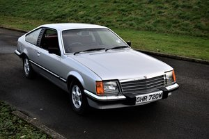 1981 VAUXHALL ROYALE COUPE - EX TROPHY WINNER, 20 YRS STORED