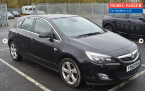 Vauxhall Astra Sri VX-Line Turbo 56,928 miles for auction 25