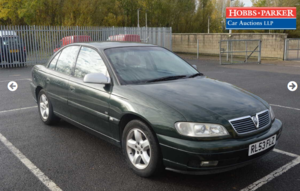 2004 Vauxhall / Omega CD 95,582 Miles for auction 25th