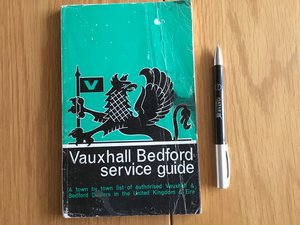 Picture of 1966 Vauxhall Bedford service guide For Sale