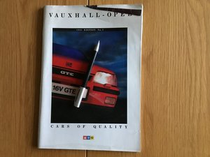 Picture of 1988 Vauxhall - Opel range brochure For Sale