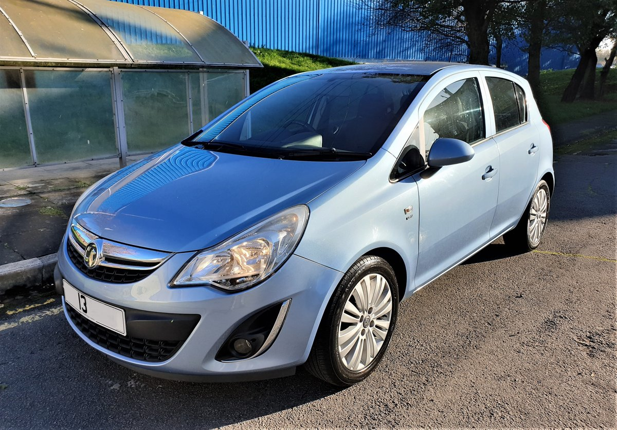 2013 VAUXHALL CORSA 1.2 ENERGY AC, MOT JULY 21, For Sale (picture 1 of 12)