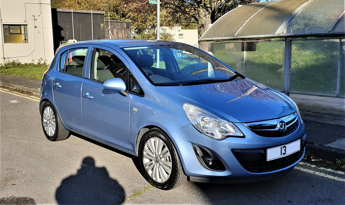 2013 VAUXHALL CORSA 1.2 ENERGY AC, MOT JULY 21, For Sale (picture 2 of 12)