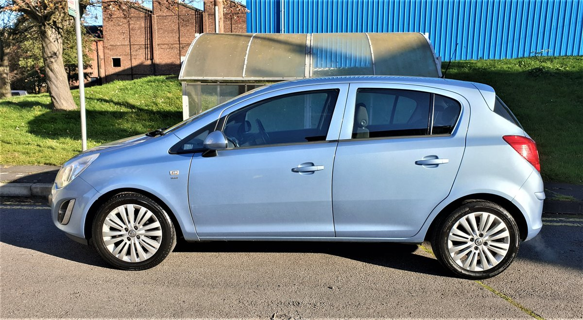 2013 VAUXHALL CORSA 1.2 ENERGY AC, MOT JULY 21, For Sale (picture 3 of 12)