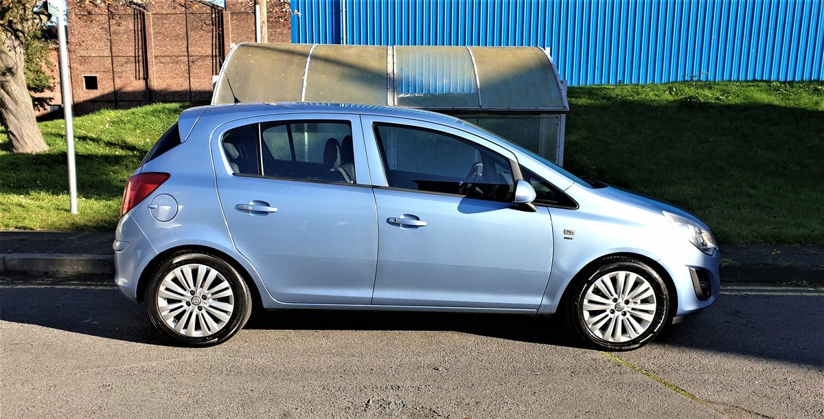 2013 VAUXHALL CORSA 1.2 ENERGY AC, MOT JULY 21, For Sale (picture 4 of 12)