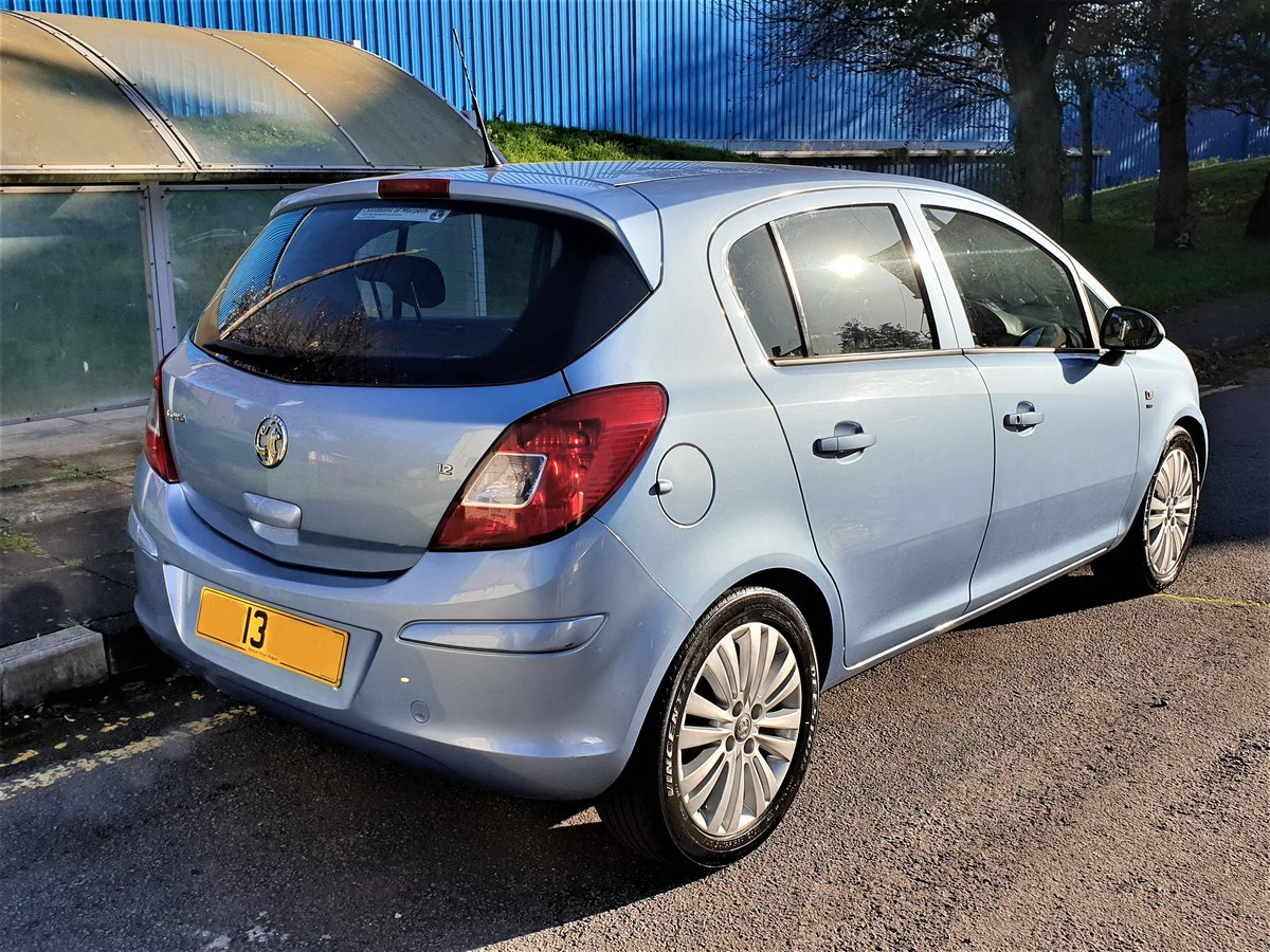 2013 VAUXHALL CORSA 1.2 ENERGY AC, MOT JULY 21, For Sale (picture 5 of 12)