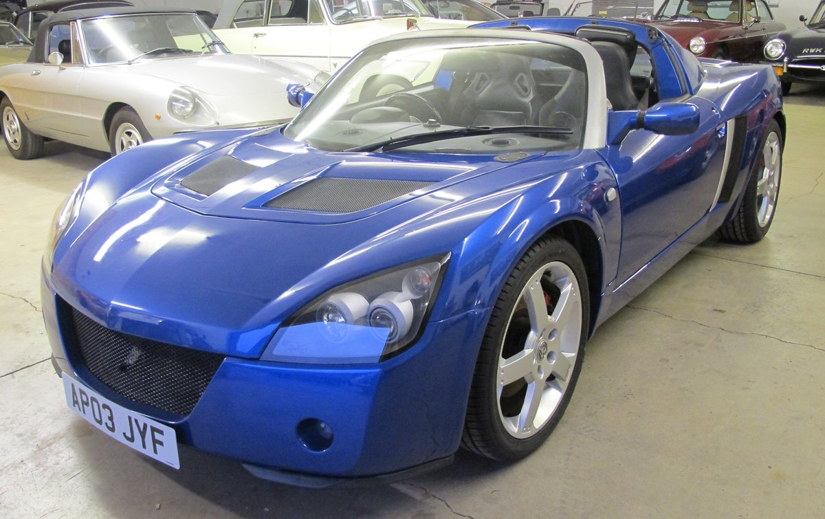 2003 Vauxhall VX220 For Sale (picture 3 of 11)