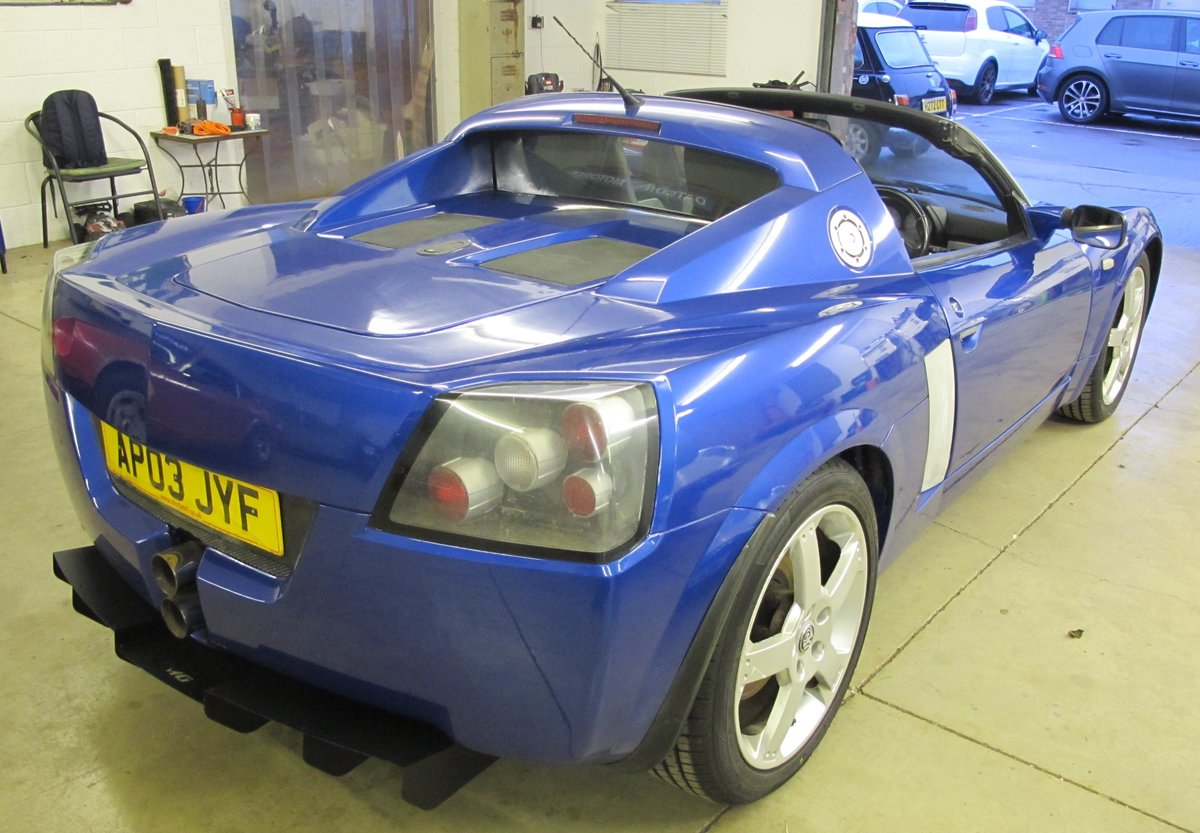 2003 Vauxhall VX220 For Sale (picture 4 of 11)