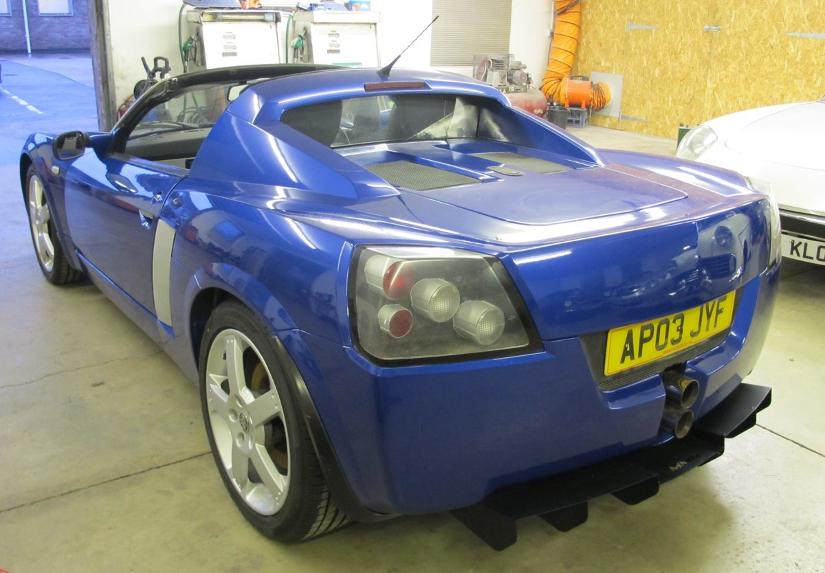 2003 Vauxhall VX220 For Sale (picture 6 of 11)