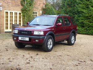 Vauxhall Frontera 3.2 V6 Manual 63000 miles Full History