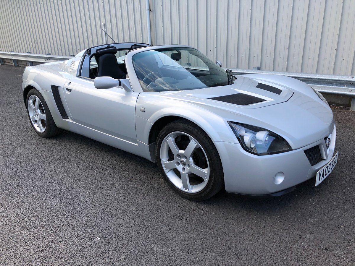2002 VAUXHALL VX220 2.2 16V WITH 45K MILES For Sale (picture 1 of 12)