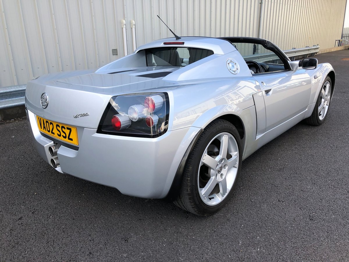 2002 VAUXHALL VX220 2.2 16V WITH 45K MILES For Sale (picture 3 of 12)