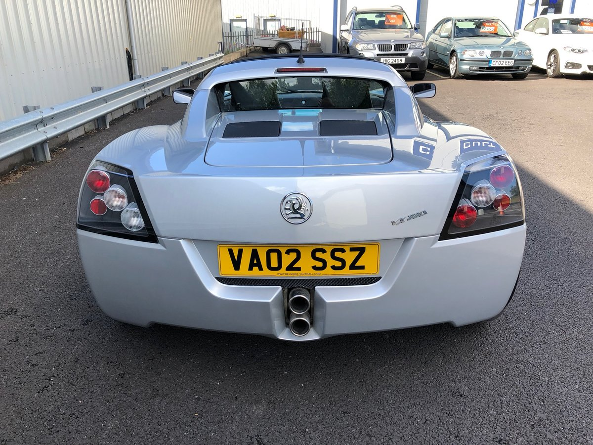 2002 VAUXHALL VX220 2.2 16V WITH 45K MILES For Sale (picture 4 of 12)