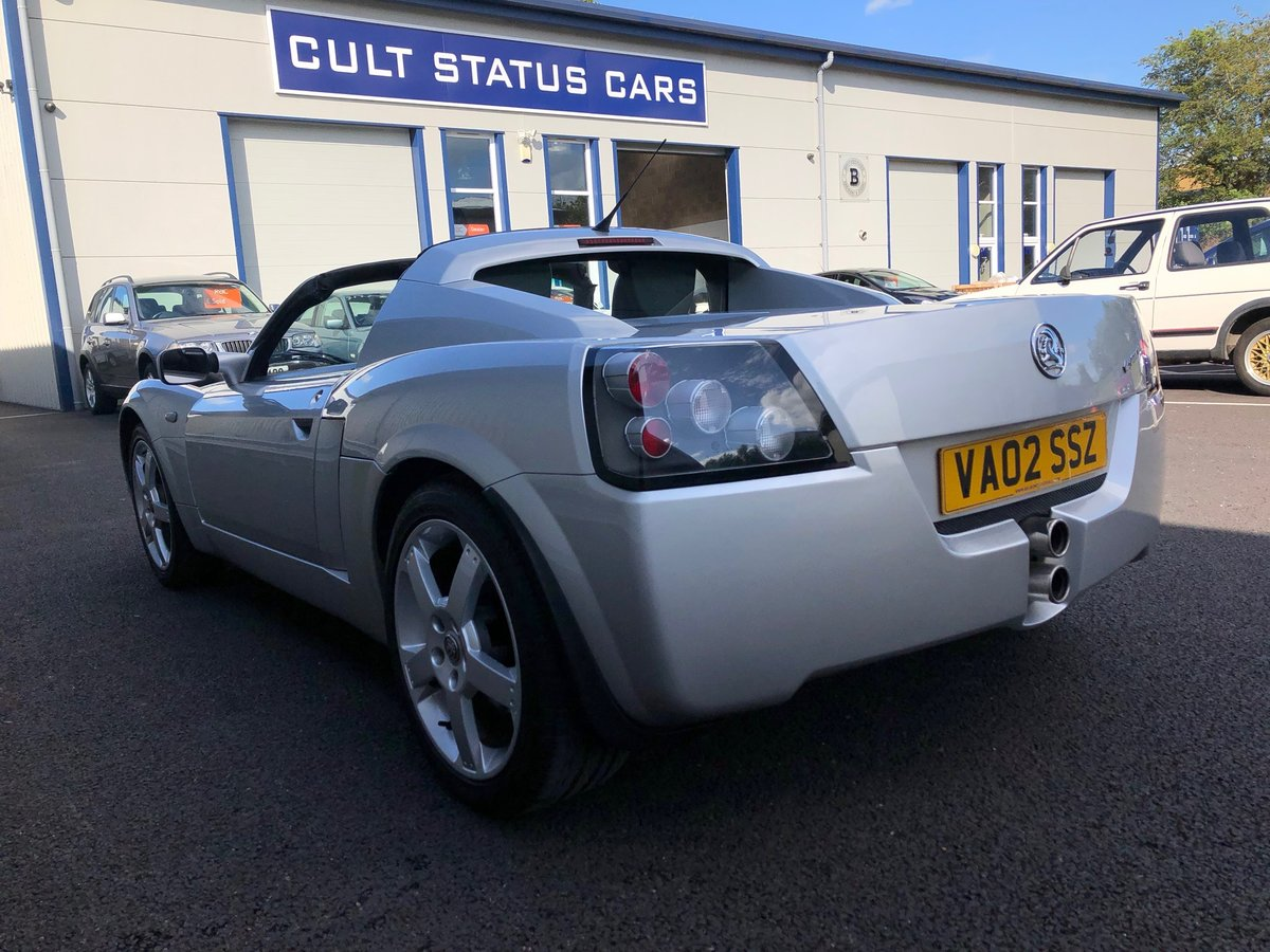 2002 VAUXHALL VX220 2.2 16V WITH 45K MILES For Sale (picture 5 of 12)