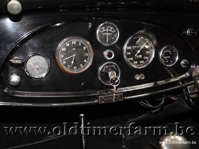 1937 Vauxhall Tickford Foursome Drophead Coupé '37 For Sale (picture 8 of 12)