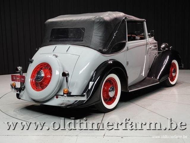 1937 Vauxhall Tickford Foursome Drophead Coupé '37 For Sale (picture 11 of 12)