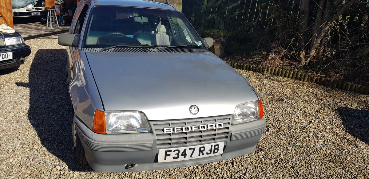 1988 BEDFORD ASTRA VAN MK2 1.3 PETROL, For Sale (picture 2 of 12)