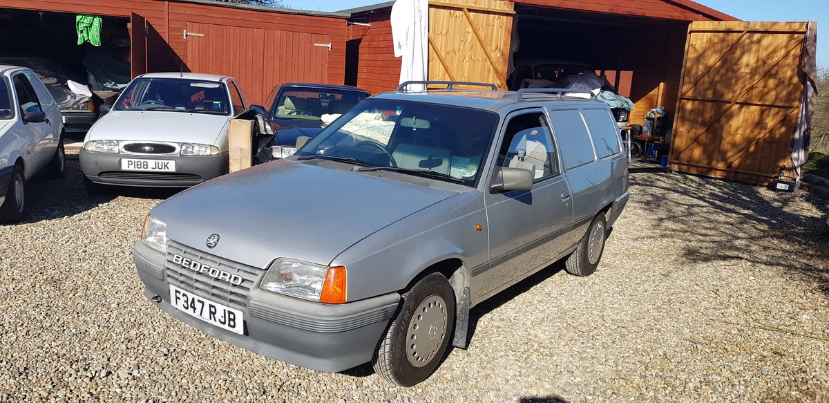 1988 BEDFORD ASTRA VAN MK2 1.3 PETROL, For Sale (picture 3 of 12)