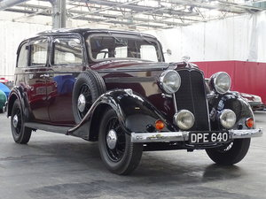 Picture of 1937 Vauxhall Big Six BXL Limousine For Sale by Auction