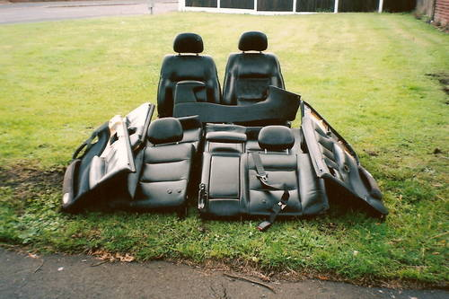 VAUXHALL VECTRA ( B) SRi FULL LEATHER INTERIOR For Sale (picture 1 of 1)