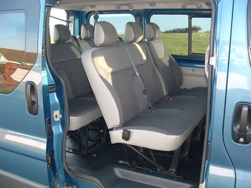 2008 VIVARO 2.0 FACTORY 9 SEAT MPV / KOMBI / MINIBUS / SHUTTLE SOLD (picture 2 of 6)