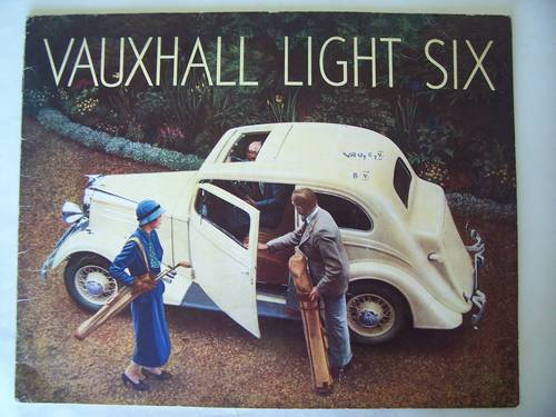 VAUXHALL LIGHT SIX 1936 SALES BROCHURE For Sale (picture 1 of 6)