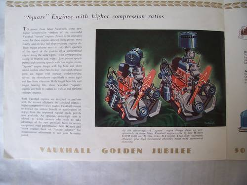 VAUXHALL VELOX & WYVERN SALES BROCHURE 1953 For Sale (picture 6 of 6)