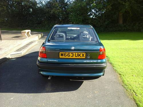 1995 M VAUXHALL ASTRA , 1.6 GLS 16V , 4 DOOR, Price:£2,695 For Sale (picture 2 of 4)