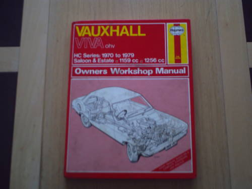 VAUXHALL VIVA  WORKSHOP MANUAL SOLD (picture 1 of 1)