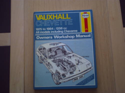 Vauxhall chevette Haynes workshop manual SOLD (picture 1 of 1)