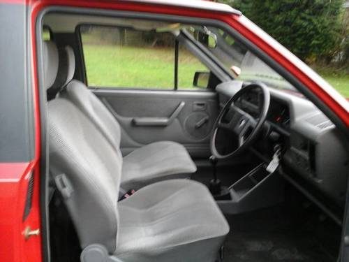 1989 G VAUXHALL NOVA 1.2L , 3 DOOR HATCHBACK,  For Sale (picture 4 of 4)