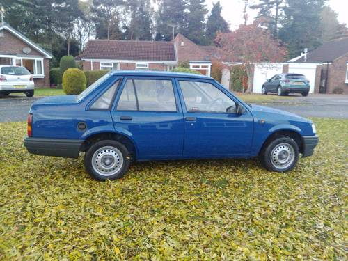 1991 Vauxhall Nova Trip 1.0 saloon For Sale (picture 1 of 6)