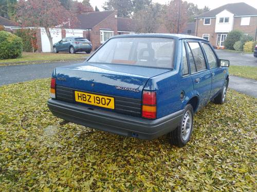 1991 Vauxhall Nova Trip 1.0 saloon For Sale (picture 6 of 6)