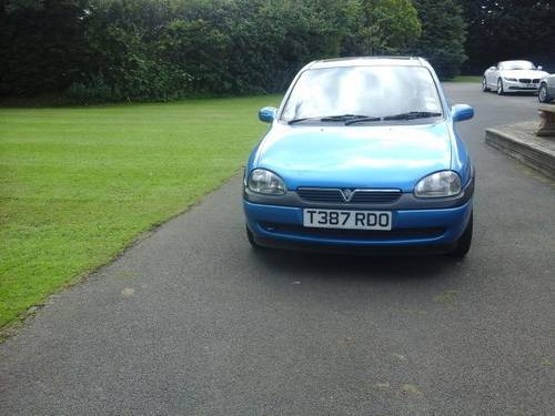 1999 T VAUXHALL CORSA 1.2 CLUB BREEZE 5 DOOR For Sale (picture 1 of 4)