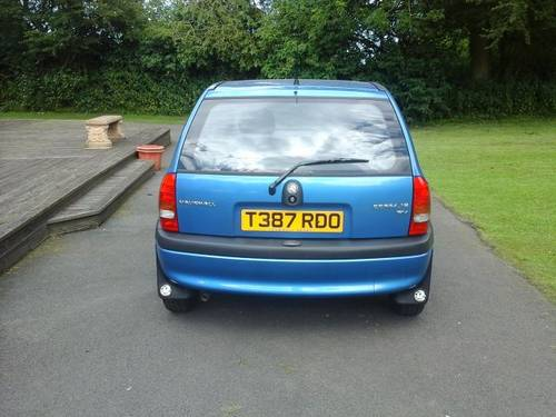 1999 T VAUXHALL CORSA 1.2 CLUB BREEZE 5 DOOR For Sale (picture 3 of 4)