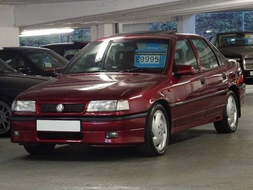 1994 Vauxhall Cavalier 2.0 i Turbo 4x4 4dr 6 SPD FULL LEATHER INT For Sale (picture 4 of 6)