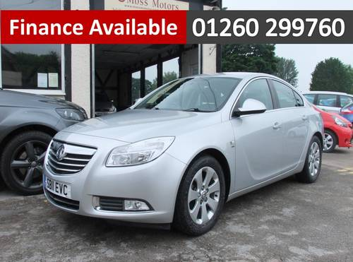 2011 VAUXHALL INSIGNIA 1.8 SRI 5DR Manual SOLD (picture 1 of 6)