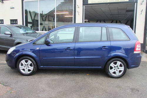 2010 VAUXHALL ZAFIRA 1.6 EXCLUSIV 5DR Manual SOLD (picture 2 of 6)