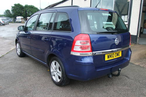 2010 VAUXHALL ZAFIRA 1.6 EXCLUSIV 5DR Manual SOLD (picture 3 of 6)