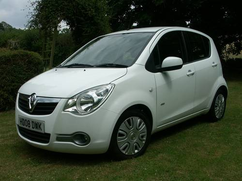 2008 Vauxhall AGila Club 1.2 SOLD (picture 1 of 6)