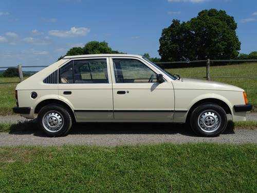 1983 Truly exceptional Mk1 Vauxhall Astra, Ex Vauxhall Heritage  SOLD (picture 1 of 6)