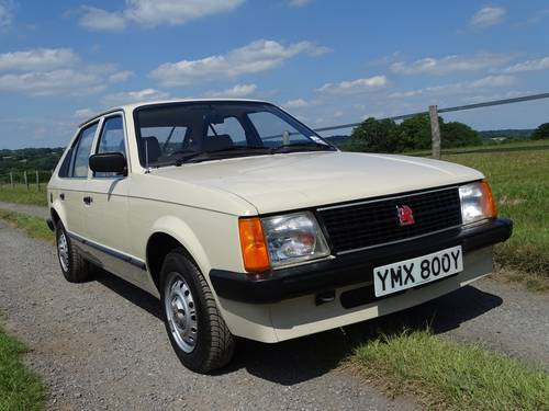 1983 Truly exceptional Mk1 Vauxhall Astra, Ex Vauxhall Heritage  SOLD (picture 2 of 6)