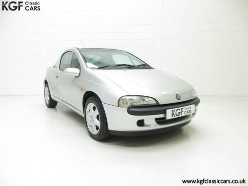 1999 A Vauxhall Tigra Chequers with One Owner and 10,728 Miles. SOLD (picture 1 of 6)