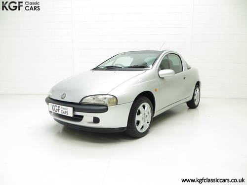 1999 A Vauxhall Tigra Chequers with One Owner and 10,728 Miles. SOLD (picture 2 of 6)