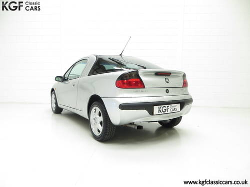 1999 A Vauxhall Tigra Chequers with One Owner and 10,728 Miles. SOLD (picture 4 of 6)