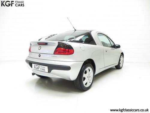 1999 A Vauxhall Tigra Chequers with One Owner and 10,728 Miles. SOLD (picture 5 of 6)