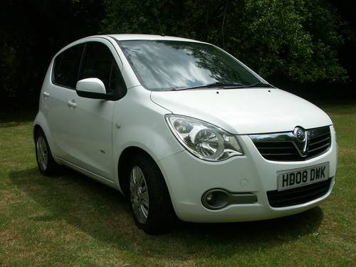 2008 Vauxhall Agila Club 1.2 SOLD (picture 2 of 6)