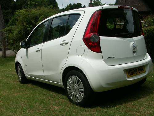 2008 Vauxhall Agila Club 1.2 SOLD (picture 4 of 6)