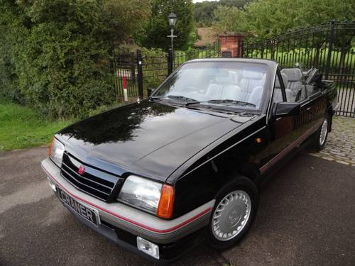 1986  Vauxhall Cavalier 1.8 Cabriolet Mark 2 SOLD (picture 1 of 6)